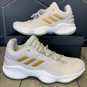 Adidas Pro Bounce Low Grey Metallic Basketball
